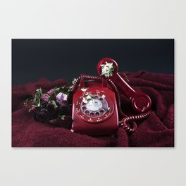 Broken Telephone Canvas Print