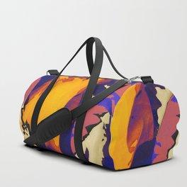 Morning Purple Duffle Bag