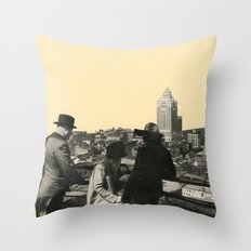 Views Across Vancouver Throw Pillow