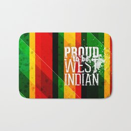 I'm [ Proud to be West Indian ]. Bath Mat