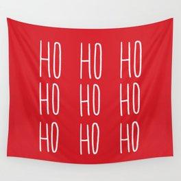 Ho Ho Ho Wall Tapestry