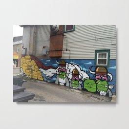 Pilsen Mural  Metal Print