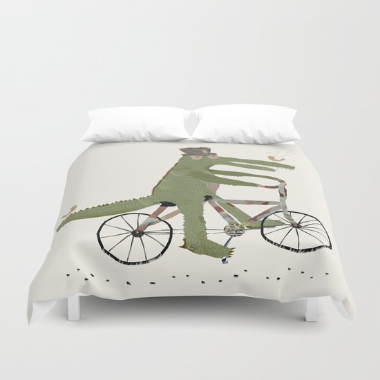 crocodile song Duvet Cover