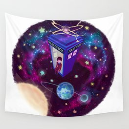 Earth Is Protected Wall Tapestry