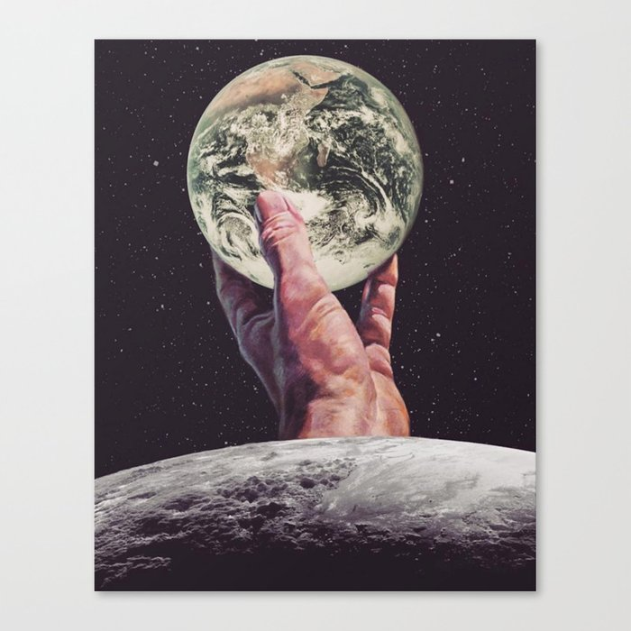 If It Were Mine To Give Canvas Print