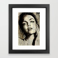 SOMETHING IN THE WAY Framed Art Print