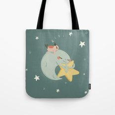 Moon Nap Tote Bag