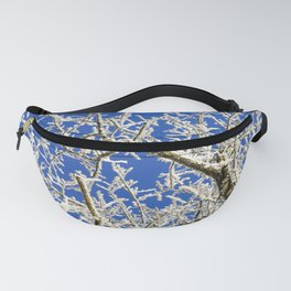 Frozen branches Fanny Pack
