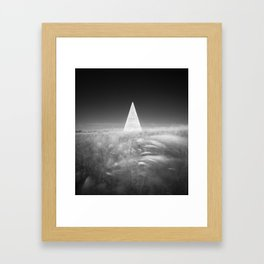 Pyramid of Golod Framed Art Print