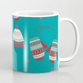 Winter/Christmas - Mittens And Hats Coffee Mug