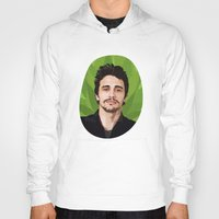 james franco Hoodies featuring James Franco by WeedPornDaily