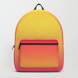 Ombre Anjo Raspberry Gold Gradient Backpack