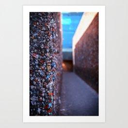 Do you dare enter Bubblegum Alley Art Print