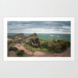 The roaches panoramic  Art Print