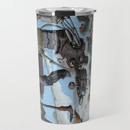 Johnny Apple-Droid Travel Mug
