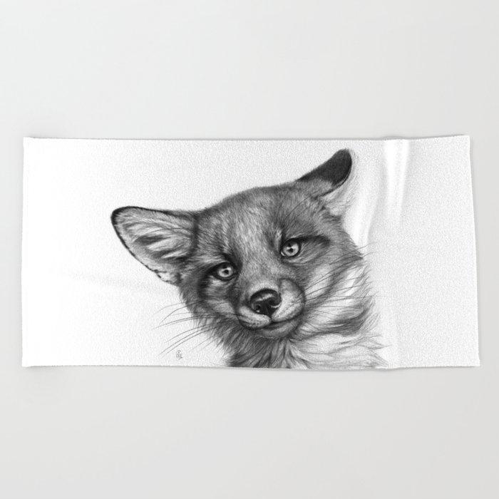 Fox Cub G139 Beach Towel
