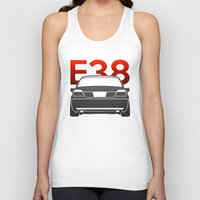 bmw Tank Tops featuring BMW E38 by Vehicle