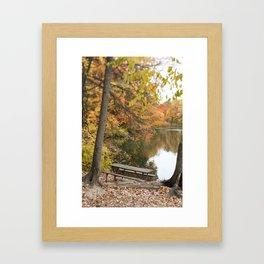 Favorite Seat Framed Art Print