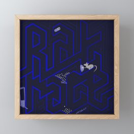Rat race Framed Mini Art Print