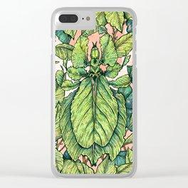 Leaf Mimic Clear iPhone Case