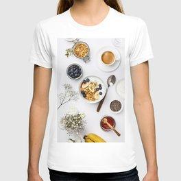 healthy breakfast T-shirt