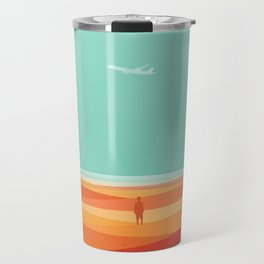 Where the sea meets the sky Travel Mug