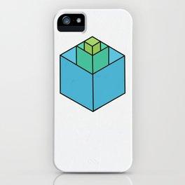Square in Square iPhone Case