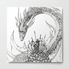 Scrag Metal Print