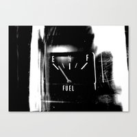 pocket fuel Canvas Prints featuring Fuel by Karen A Webb Photography