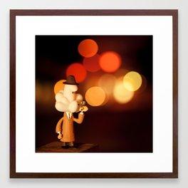 Inspector Cumulus Framed Art Print