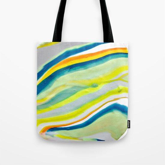 Earth Lines Marbling, Unite Tote Bag