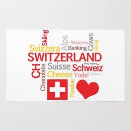 My Favorite Swiss Things Rug