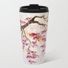 Cherry Tree Metal Travel Mug