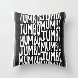 Mumbo Jumbo Throw Pillow