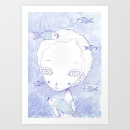 THE ODISSEY IN MY OPINION Art Print