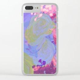 Kawaii Pretty Springtime Sparkle Clear iPhone Case