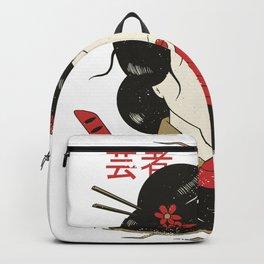 Japanese Geisha Backpack