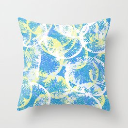 Abstract Jellyfish Visual Decorative Graphic Design V.9 Throw Pillow