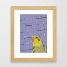 The Cocatiel Gallery Giftshop Framed Art Print