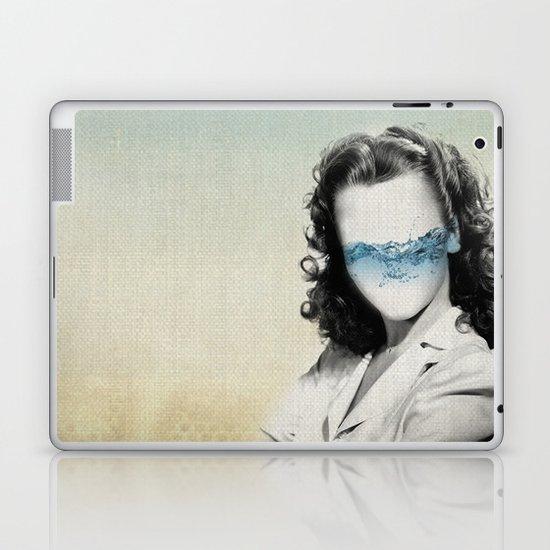 the glass half full Laptop & iPad Skin
