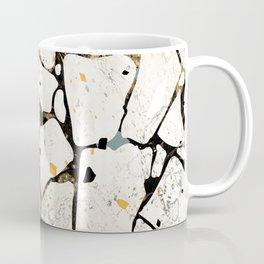 Terrazzo Grey and Yellow Coffee Mug