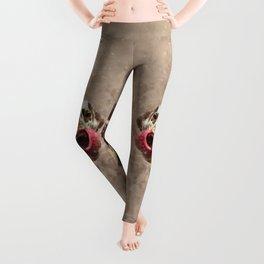 Watercolor Cute Dalmatian Leggings