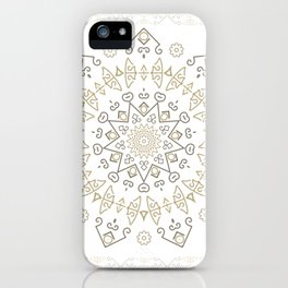 Snow Deco iPhone Case