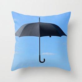 Mary Poppins umbrella Throw Pillow