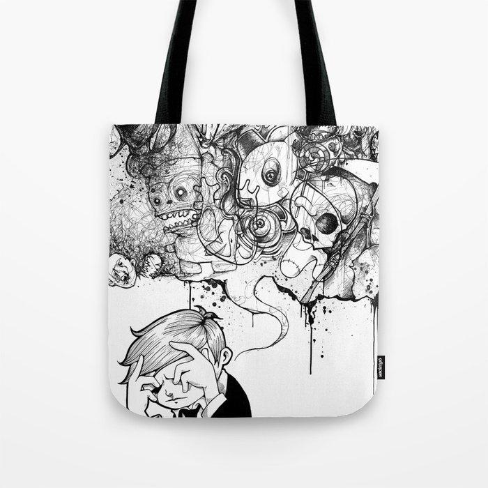 A Heavy Heart Tote Bag