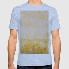 Yellow wall facade T-shirt
