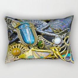 Jewelry Cluster 1 Rectangular Pillow