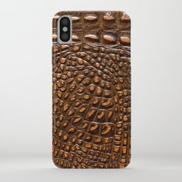 Alligator Crocodile skin | texture #home #lifestyle iPhone Case