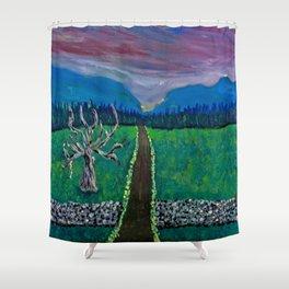 Mountain Drive Shower Curtain