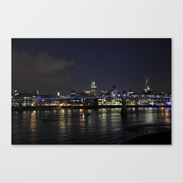 Night in London Canvas Print